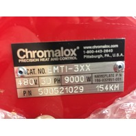 Chromalox Immersion Heater EMTI-3XX 500521-029 3Ph 480V 9,000 Watt