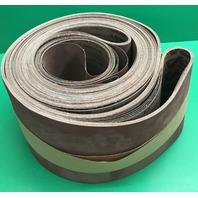 """Vitex VSM, Series KK711X, 6"""" x 264-3/4"""" 220 Grit, ALUM.OXIDE Sanding Belts- 9 PK"""