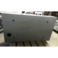 Square D Fusible Saftey Switch Catalog No. H325, 400 AMP, 240V, Type 1 Enclosure