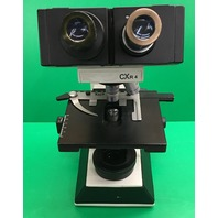 Labomed CXR4 Microscope w/ ergo Head 4X/10X40X100X