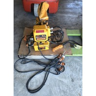 Harrington Electric Chain Hoist MR010L, 1/4 Ton, 10 ft. Chain/ Tested
