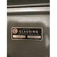 "Clausing Variable Speed 15"" Drill Press Head, Model 1657, 110V, 1 PH"