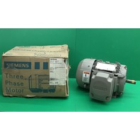 New Siemens 2 HP 1LE23011AB413AA3 Electric Motor  254T 575V 1740 RPM 145T Frame