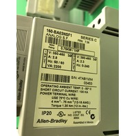 6- Allen Bradley 0,75KW /1HP Drives 160-BA03NSF1 Series C, Analog S.F., FRN 7.06