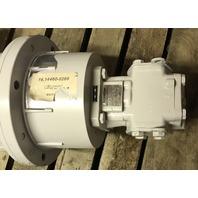 4 HP WEG W22 Tru-metric motor W/ R35/25-FL-Z Rickmeier Pump. L100L-Frame 1740RPM