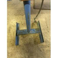 Wire Wheel Deburring Machine Dayton Motor 2N8660 with pedestal  208-230/460V 3ph