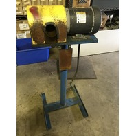 Wire Wheel Deburring Machine Dayton Motor 2N8660 with pedestal  208-230/460V 3ph