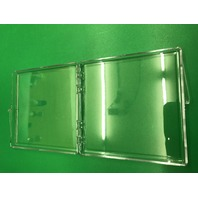 153 (1 Case) Crystal Clear Plastic Boxes 4.5625 x 4.5625 x 0.5000