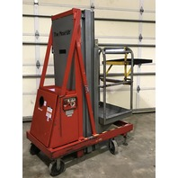 Cotterman Maxi-lift 176BH Electro/Hydraulic Outriggerless Work Platform, 17.5ft