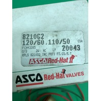 ASCO Red-Hat Solenoid Valve 8210G2