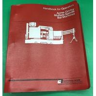 Amce-Grindley Handbook for Operators, Multiple Spindle Bar Machines