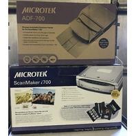 1-Microtek ScanMaker i700 & 1-Microtek 50 page document feeder ADF-700
