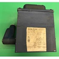 Dongan Transformer 3.0 KVA, Pri. 240x480, Sec.120/240, 1 Ph, Cat. No. 80-1050