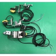 Lot of 3 W/ Mounting Brackets- Banner QS18VP6LP  Photoelectric Sensor