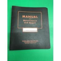 Wheelabrator Airblast Cabinets, Instruction Manual