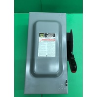 Square D H362 Single Throw Fusible Indoor Safety Switch 60 Amp 600V Type 1