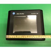 Allen Bradley Panelveiw 600 Cat No. 27711-T6C8L1 Ser B Rev F Frn 4.46 24 VDC