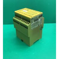 Pilz Safety Relay 774086 137229 Emergency Stop, PNOZ 11, 230-240 VAC, 24VDC