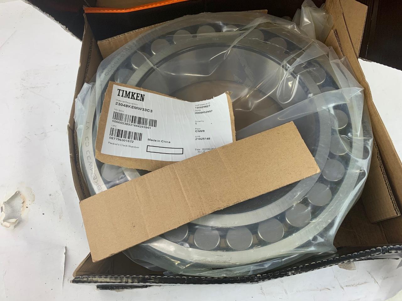 22222KW33 Torrington New Spherical Roller Bearing