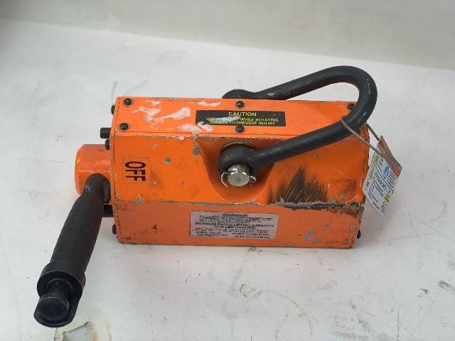 Eries Lifting Magnet, 2200 lb Cap, 10-23/32 OAL (S#25-3)