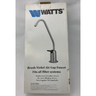 Watts 0959752 Air Gap Faucet - Brushed Nickel (s#24-4)