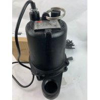 Dayton 1/2 HP 1 Ph 120v 2 in 1750 RPM Sewage Pump 3BB88 (S#30-f)