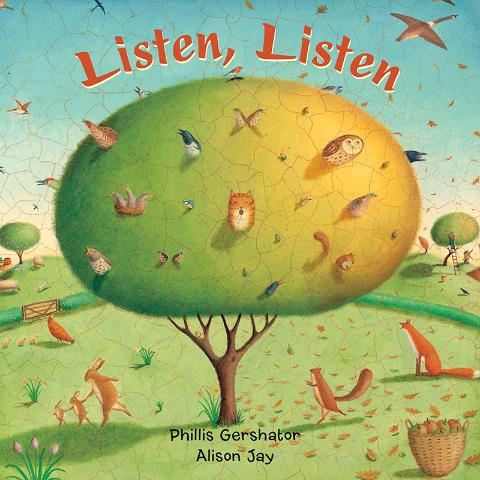 LISTEN LISTEN BOARD BOOK