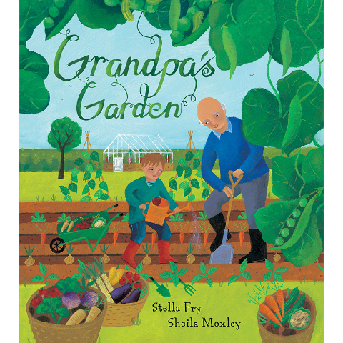 GROWING UP GREEN: GRANDPAS GARDEN