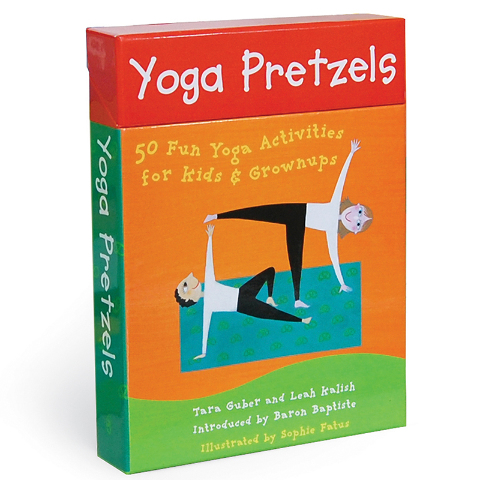 YOGA PRETZELS ACTIVITY CARDS