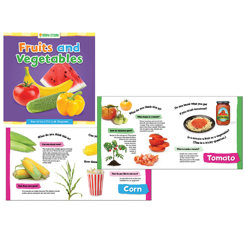 GROW W/ STEAM FRUITS AND VEGETABLES