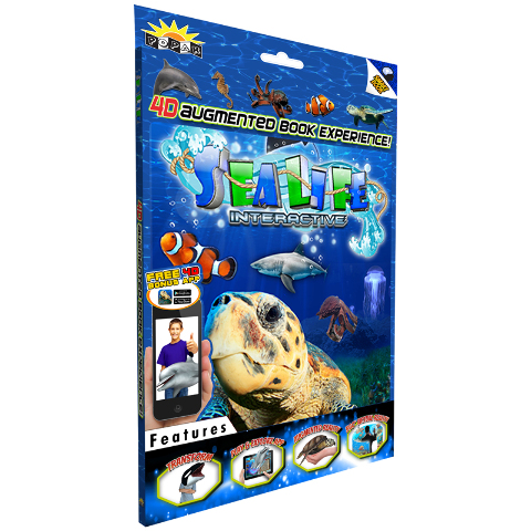 SEA LIFE INTERACTIVE SMART BOOK