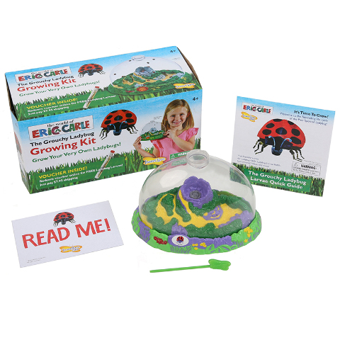 ERIC CARLE GROUCHY LADYBUG GROW KIT