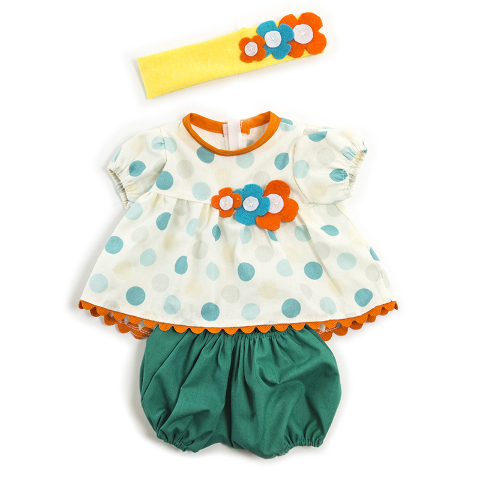 DOLL CLOTHES GIRL SUMMER OUTFIT
