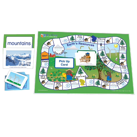 LEARNING CENTER GAME OUR EARTH