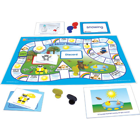 LEARNING CENTER GAME WEATHER & SKY