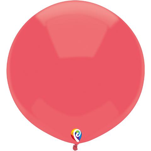 17IN JUMBO RED BALLOONS