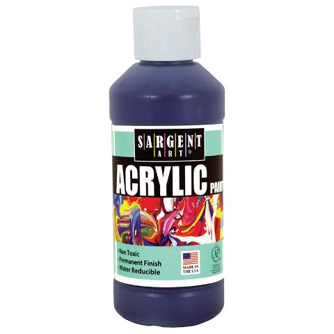 ACRYLIC PAINT 8 OZ VIOLET