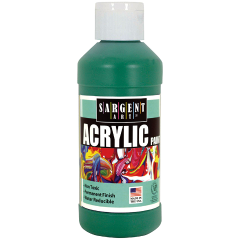ACRYLIC PAINT 8 OZ GREEN