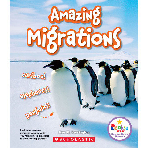 AMAZING MIGRATIONS BOOK