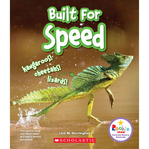 BUILT FOR SPEED BOOK