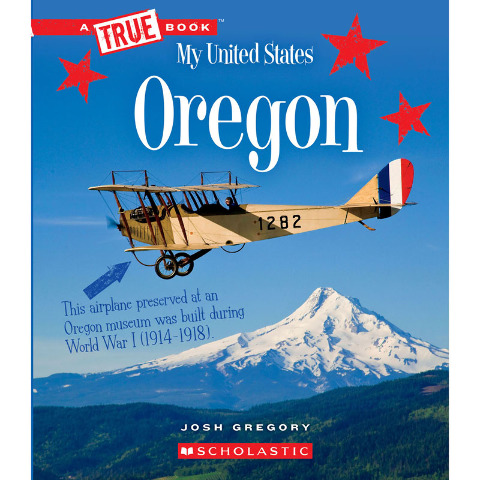 MY UNITED STATES BOOK OREGON