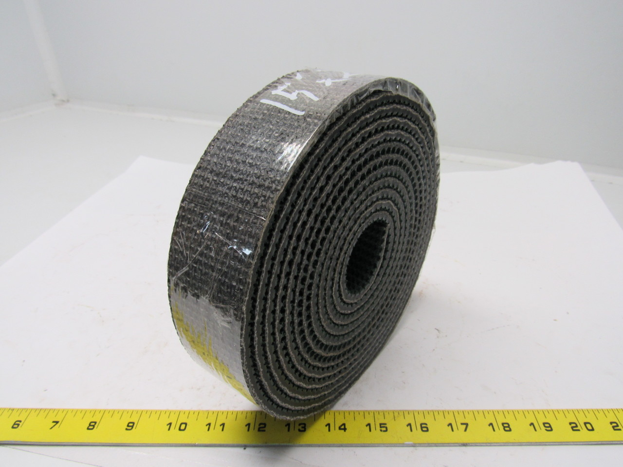 "2 ply green rubber rough top incline conveyor belt 15'x2""x1/4"""
