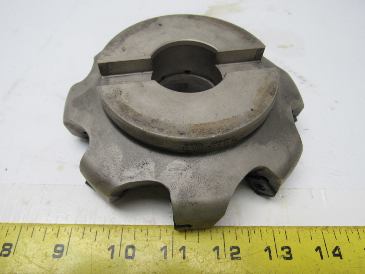 "ISCAR HELIDO S845 F45SX D5.0-8-1.5-R16 4.75""  Indexable Face Mill 1.5"" Arbor"