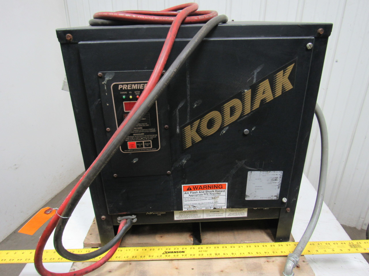 bulldog batteries bulldog battery 18k1200b3 kodiak battery forklift charger 8462
