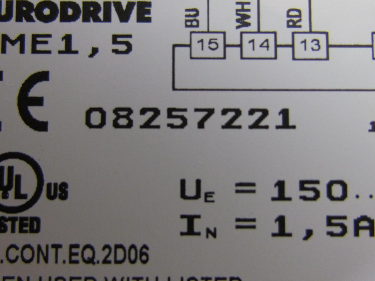 sew eurodrive motor brake wiring diagram