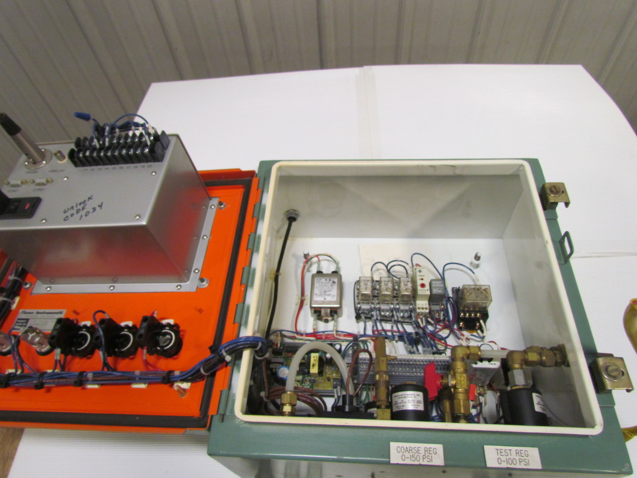 Phase 1 Instruments System 2120 Leak Tester Unit Enclosure Earth Resistance Testers Sew 2120er