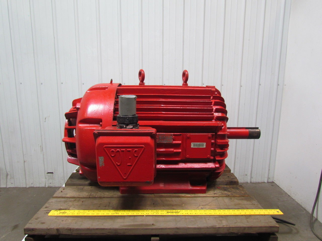 Delco N8109HBY9 200 HP Motor 1780 RPM 460 Volt Frame L505 460V 3ph