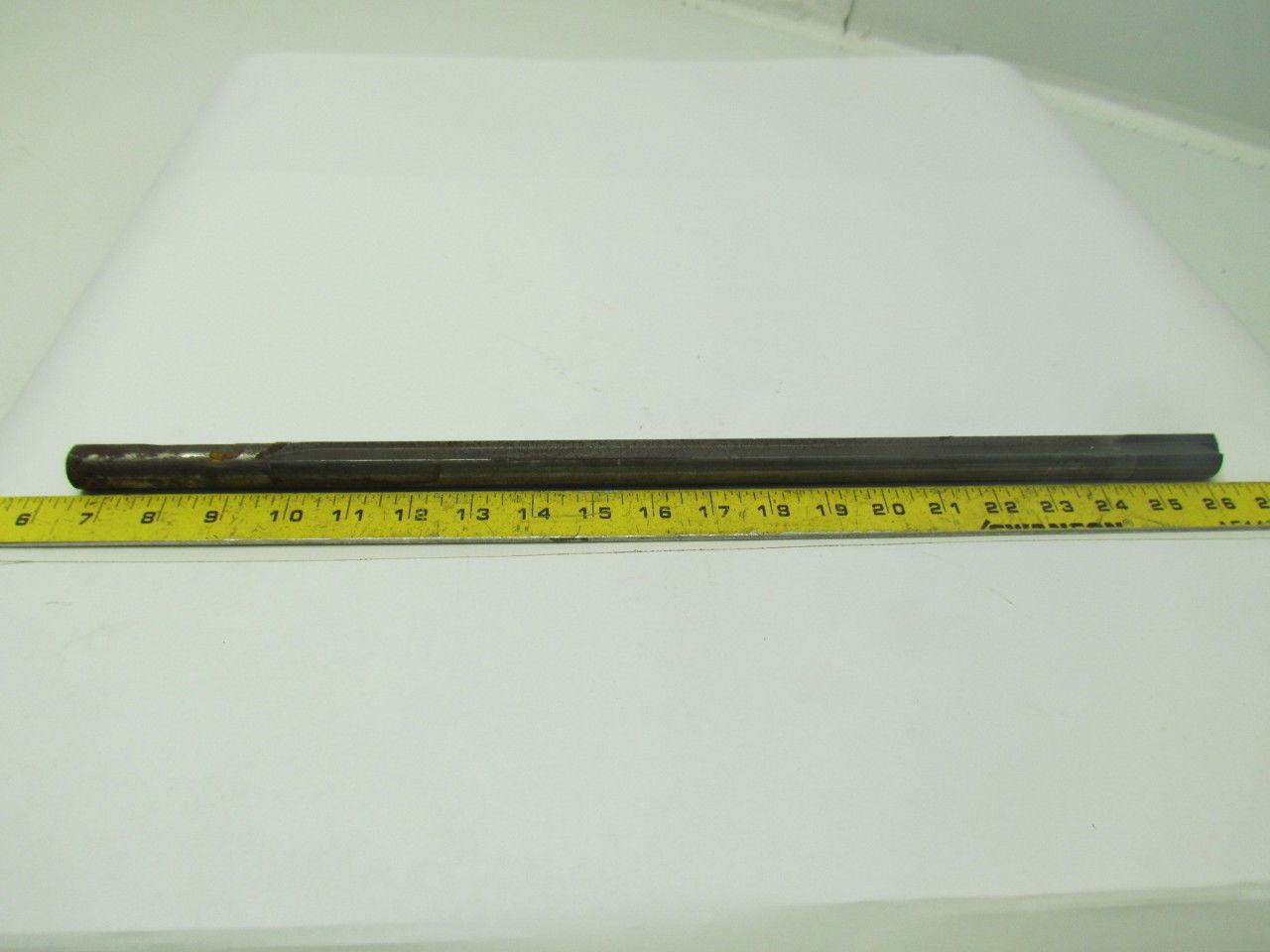 """.812x20.250"""" OAL 2 Flute Coolant Fed Carbide Tip Gun Drill"""