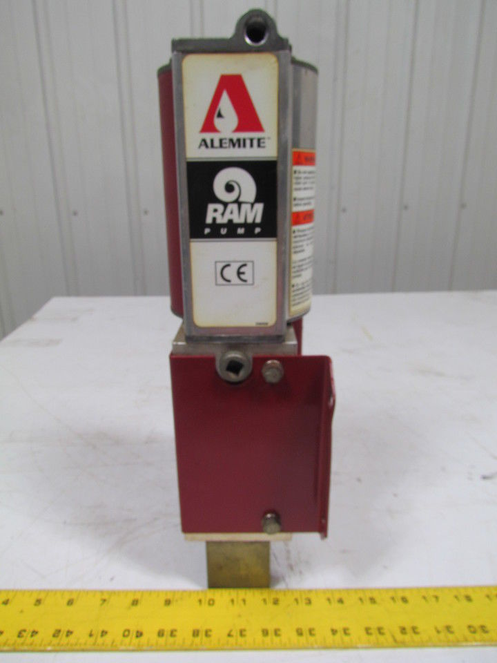 "Alemite 9920 Stationary Pneumatic oil pump 3""Dia air Motor 1""NPTF Inlet"