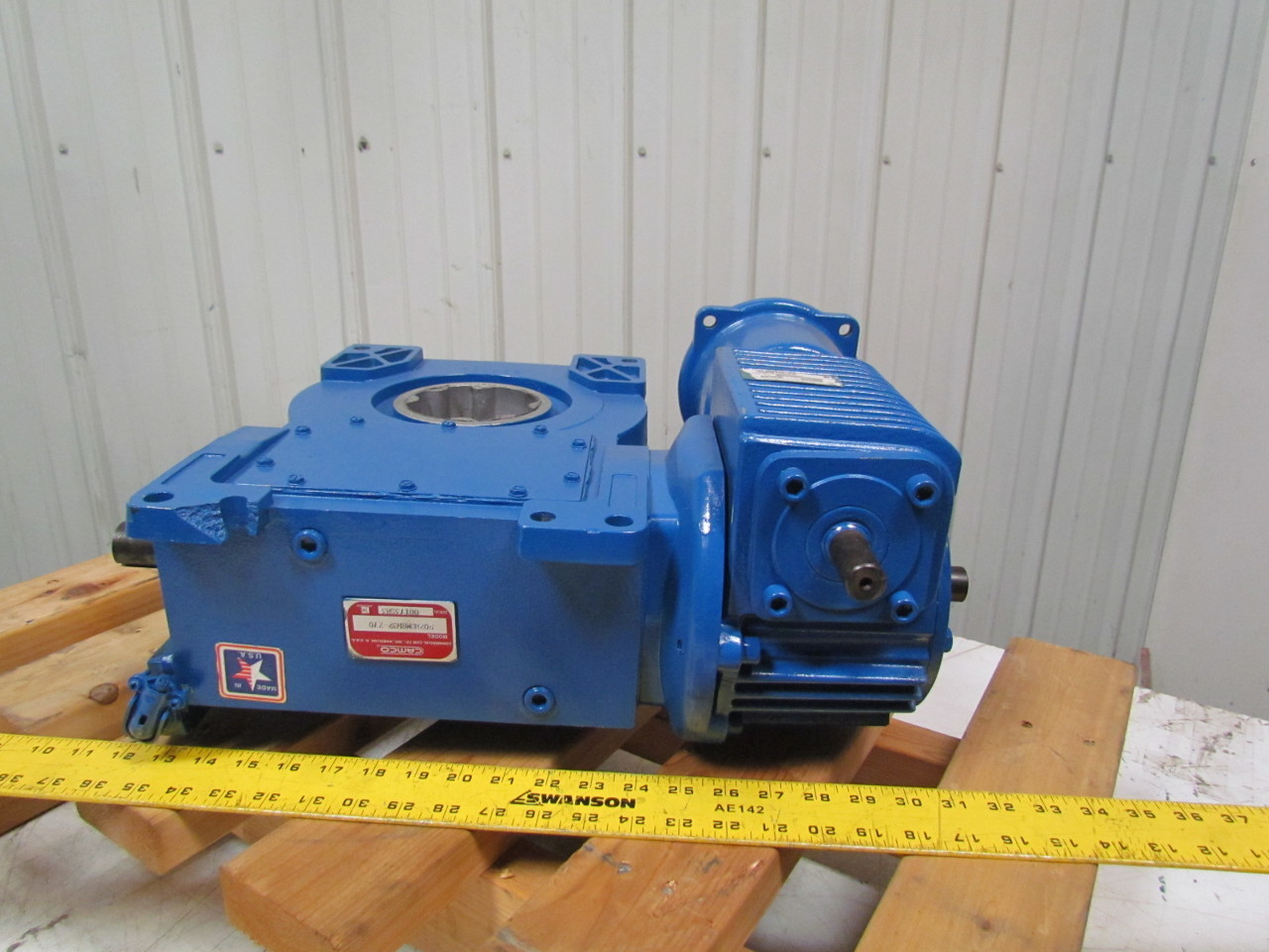 Camco 902rdm8h32 270 Index Drive W 2 625 30 1 Right Angle Reducer Bullseye Industrial Sales Galleries